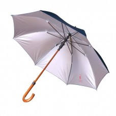 Safari Gents Walking Umbrella Black